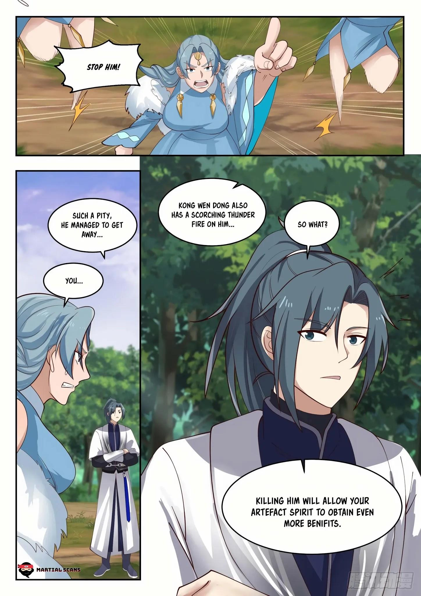 Martial Peak Chapter 1313: Heaven Scorching Thunder Fire page 13 - Mangakakalots.com