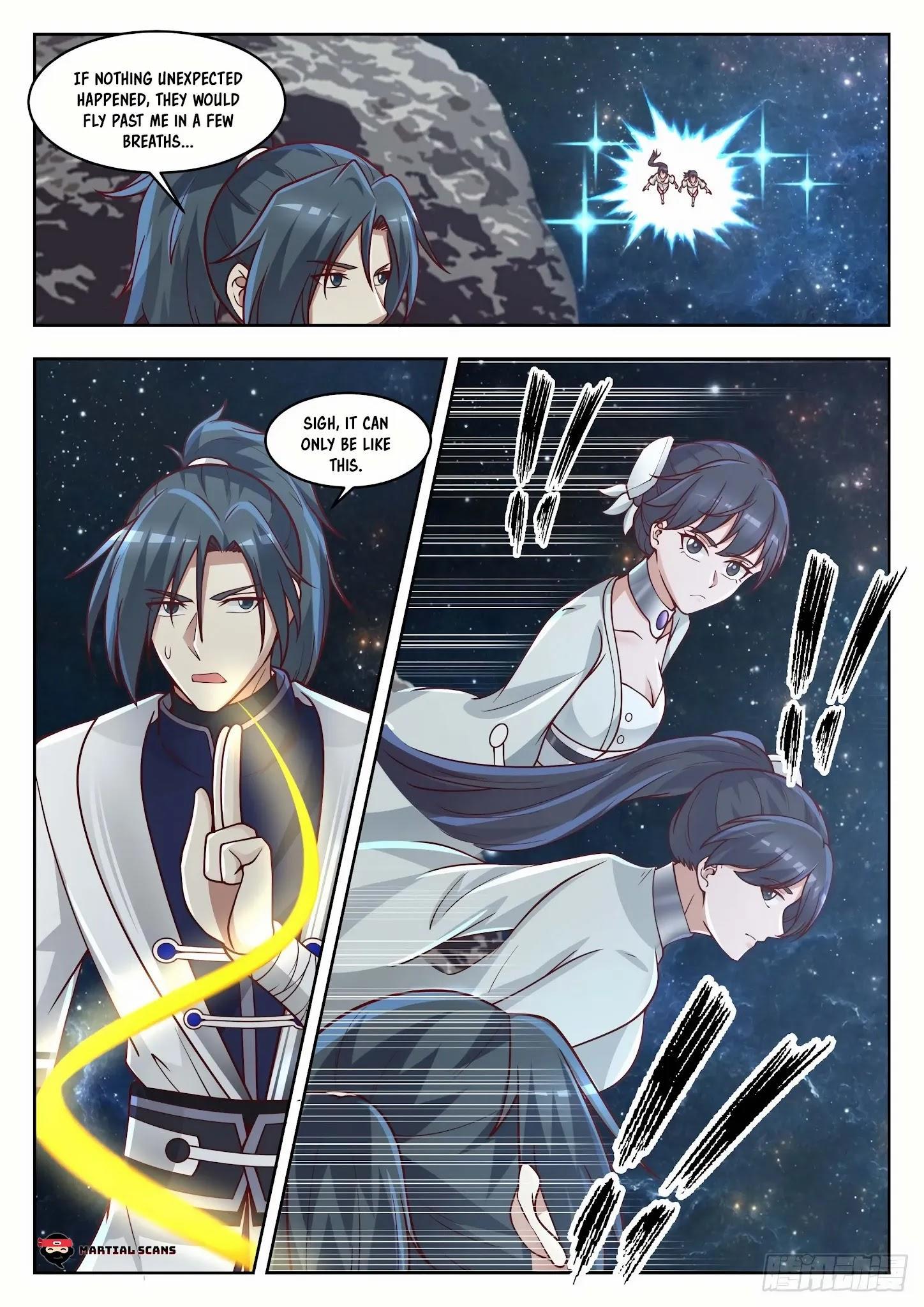 Martial Peak Chapter 1445: Three Swords Brilliance Secret Technique page 13 - Mangakakalot