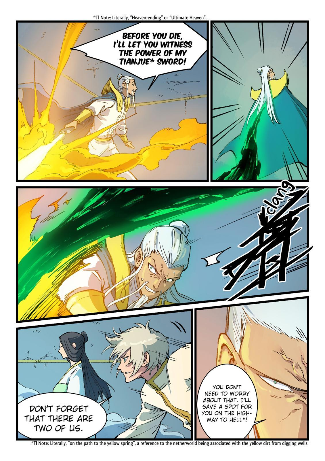 Star Martial God Technique Chapter 406 page 3 - Mangakakalots.com