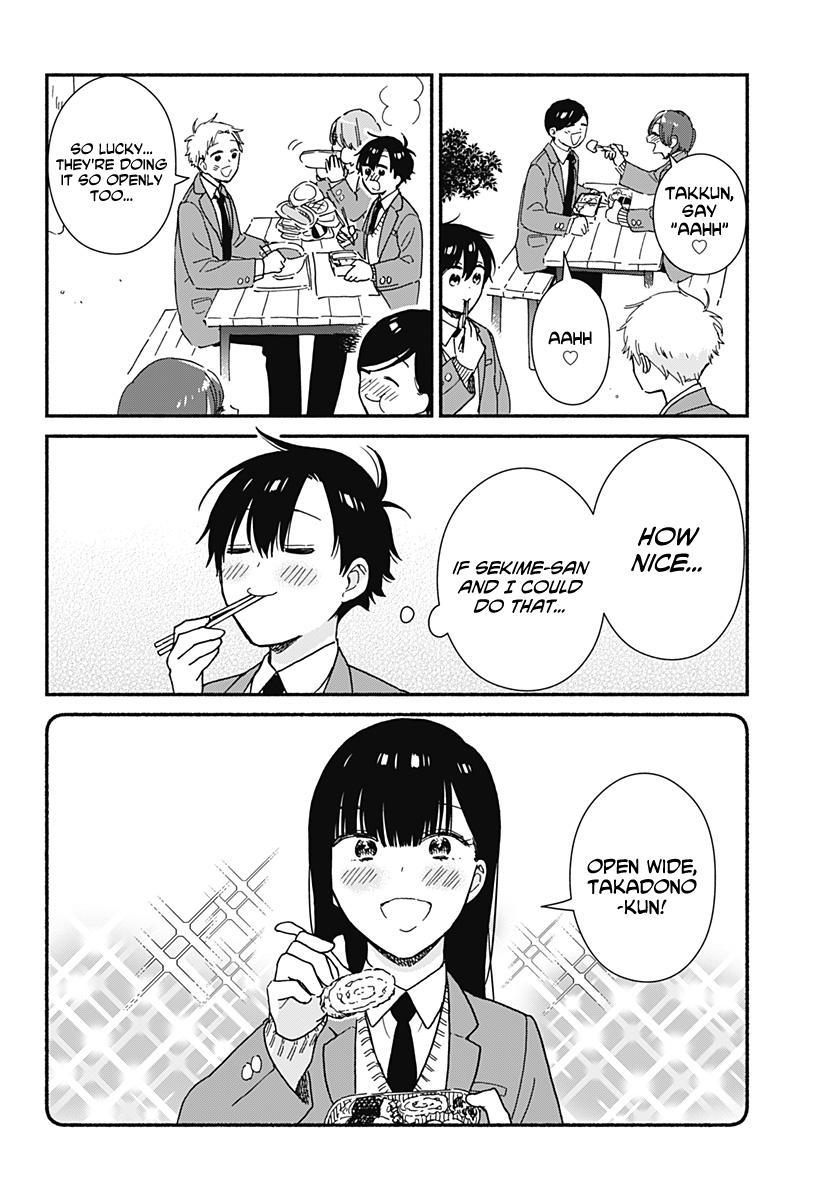 Sekimen Shinaide Sekime-San Chapter 8 page 4 - Mangakakalots.com