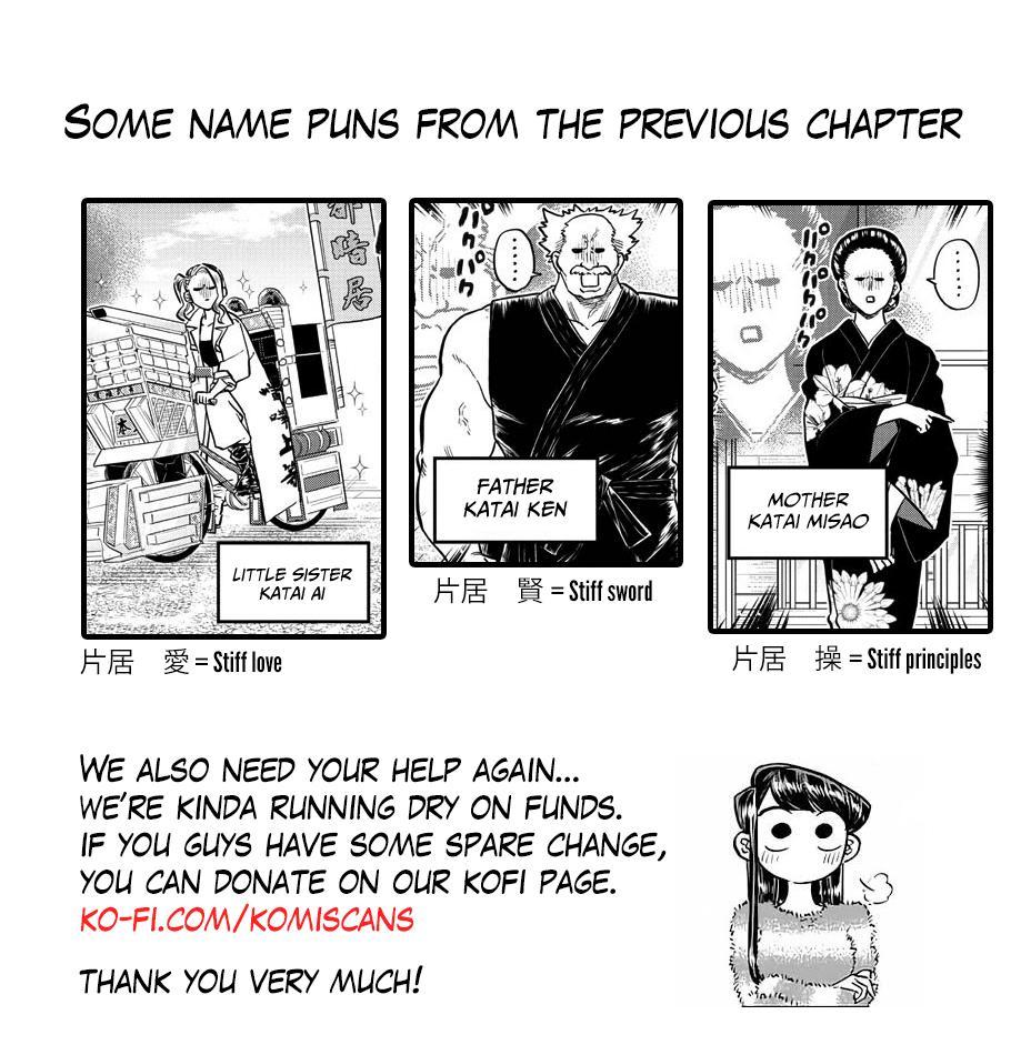 Komi-San Wa Komyushou Desu Vol.13 Chapter 180: Test Of Courage page 19 - Mangakakalot