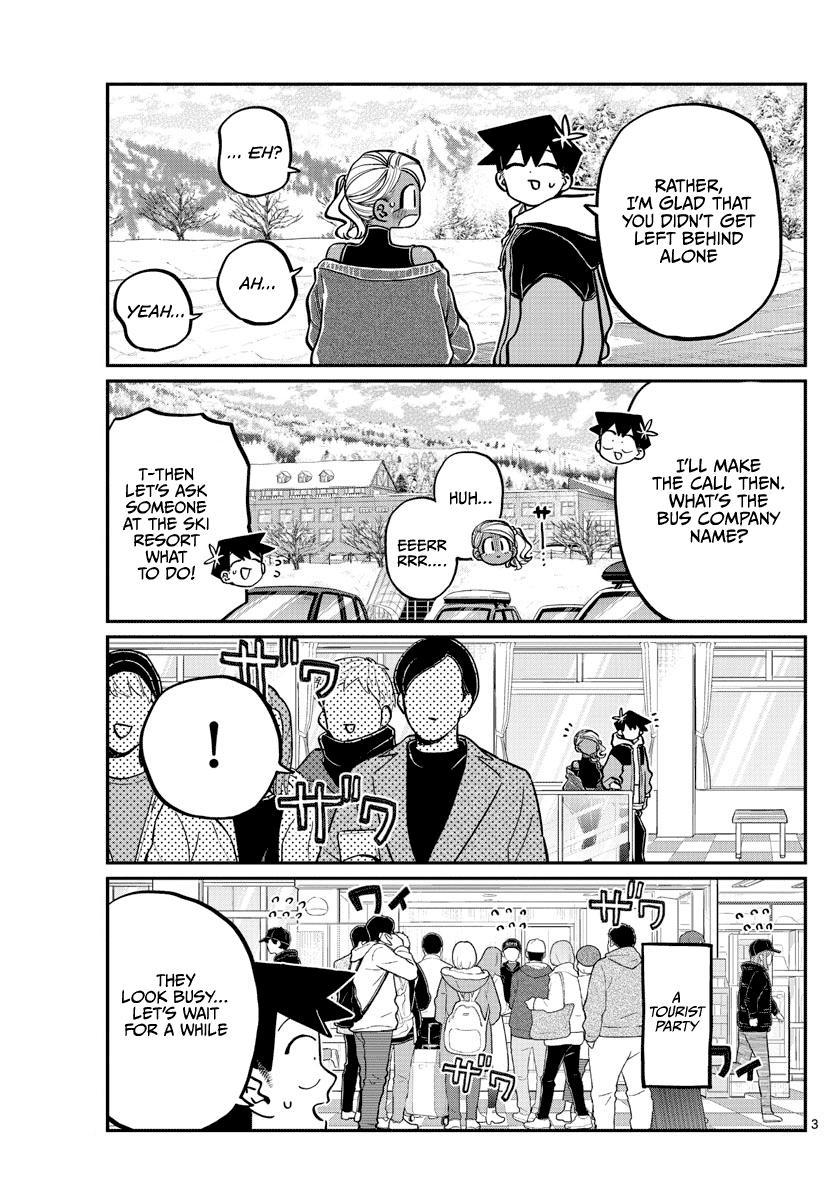 Komi-San Wa Komyushou Desu Chapter 263: Inn page 3 - Mangakakalot