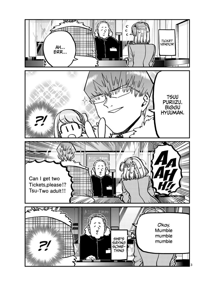 Komi-San Wa Komyushou Desu Chapter 290: Naruse-Kun And Ase-San 2 page 3 - Mangakakalot