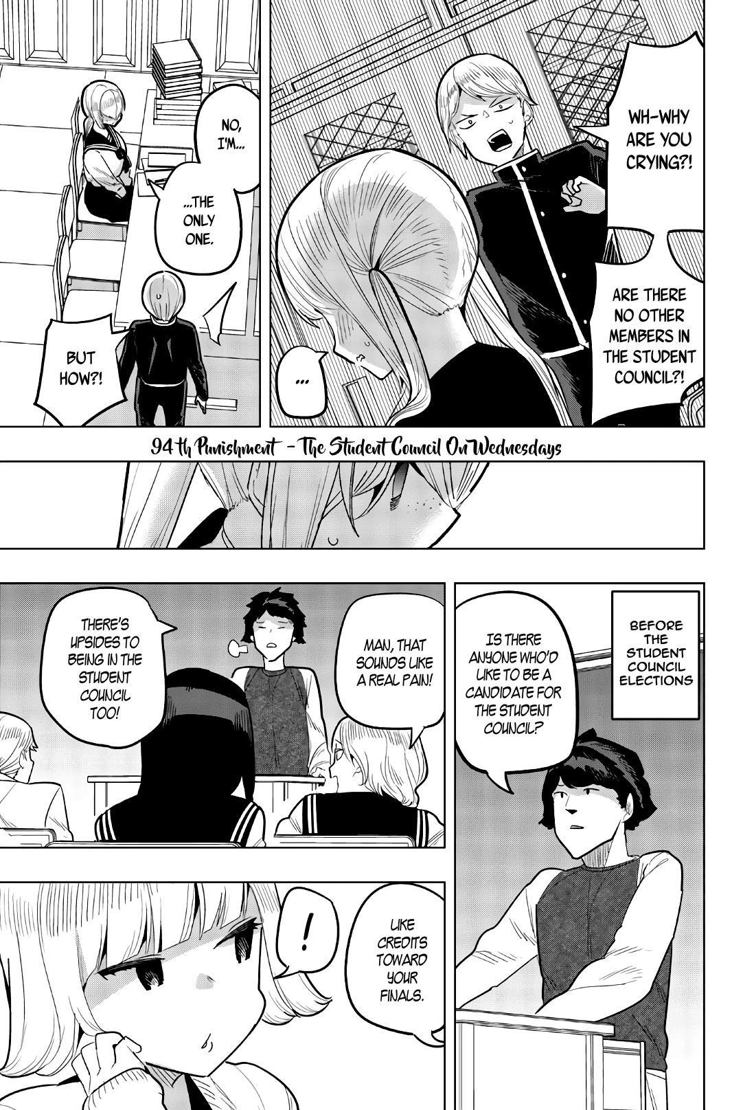 Houkago No Goumon Shoujo Chapter 94: The Student Council On Wednesdays page 1 - Mangakakalots.com