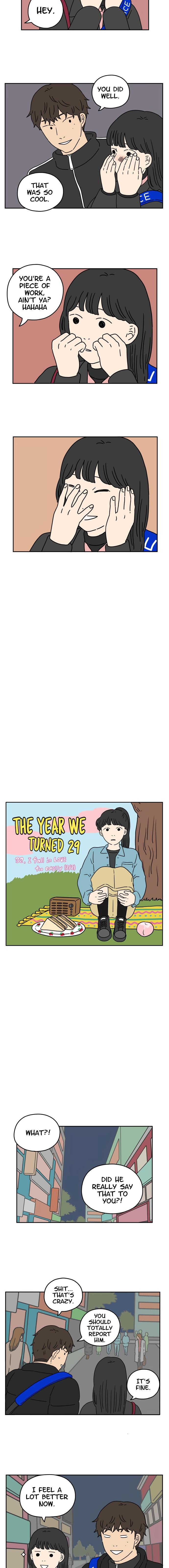 The Year We Turned 29 Chapter 32: I Fall In Love Too Easily (2/2) page 4 - Mangakakalots.com