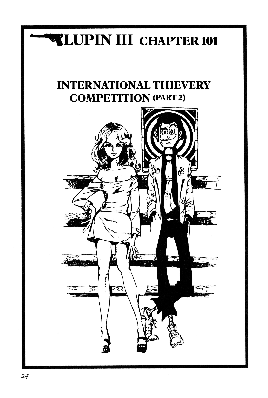 Lupin Iii Vol.9 Chapter 101: International Thievery Competition (Part 2) page 1 - Mangakakalots.com