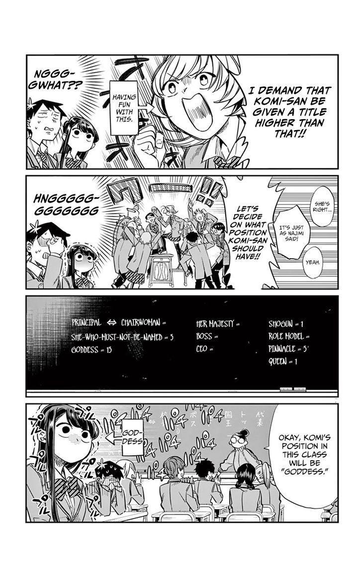 Komi-San Wa Komyushou Desu Vol.1 Chapter 17: Class Decision page 7 - Mangakakalot