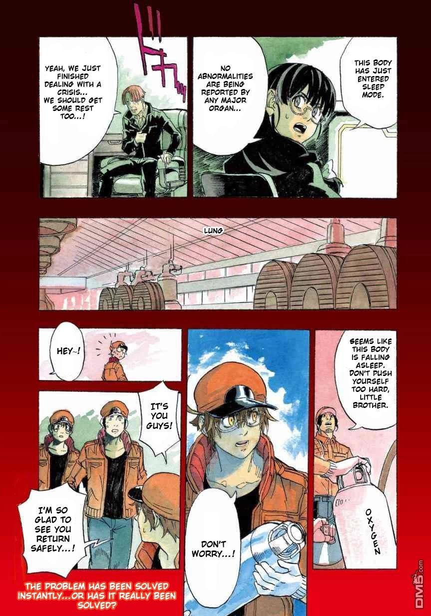 Hataraku Saibou Black Chapter 27: Sleep Apnea, Sentimentality, Reality page 4 - Mangakakalots.com