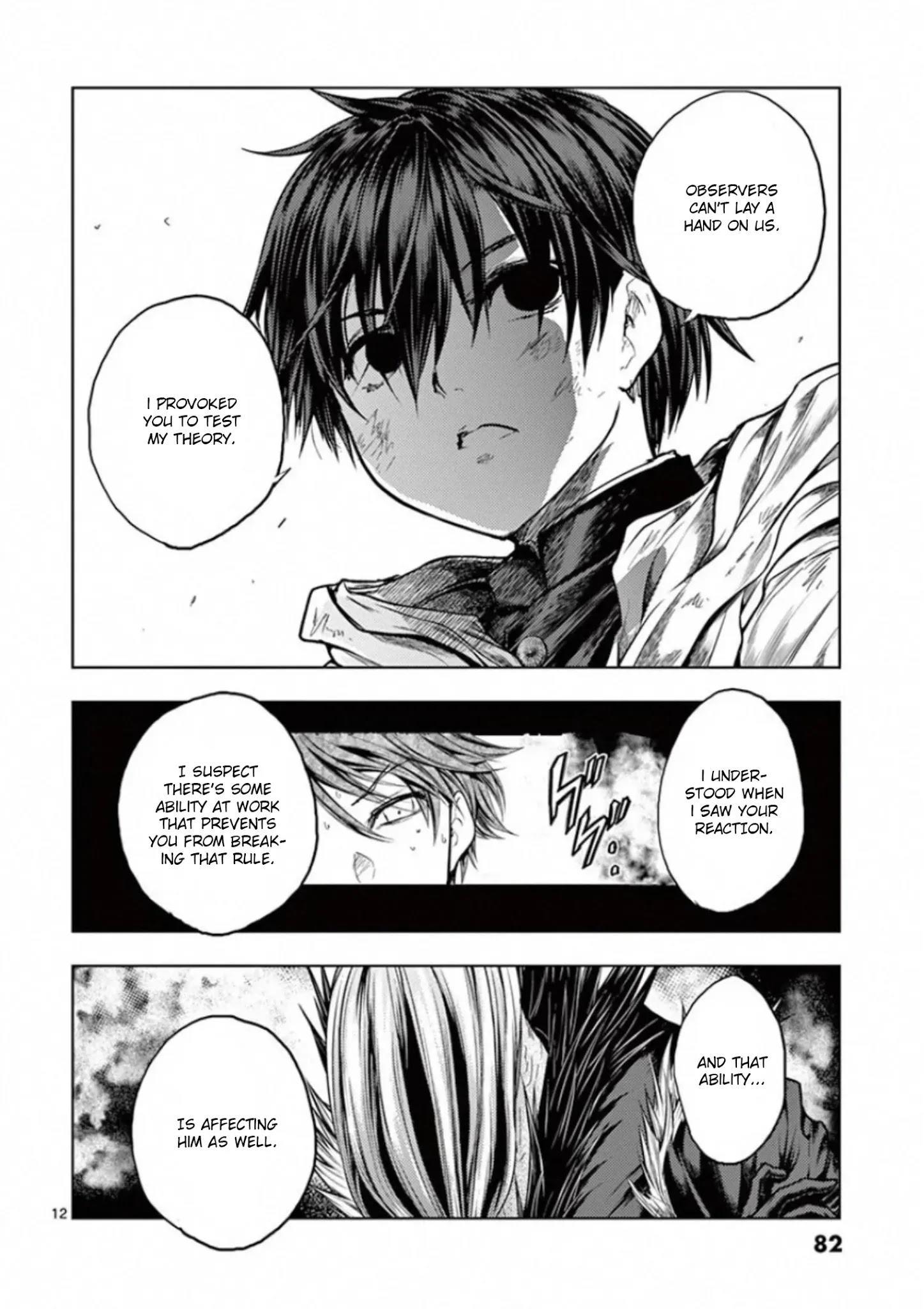 Deatte 5 Byou De Battle Chapter 128: Two Billion Light-Years Of Solitude page 12 - Mangakakalots.com