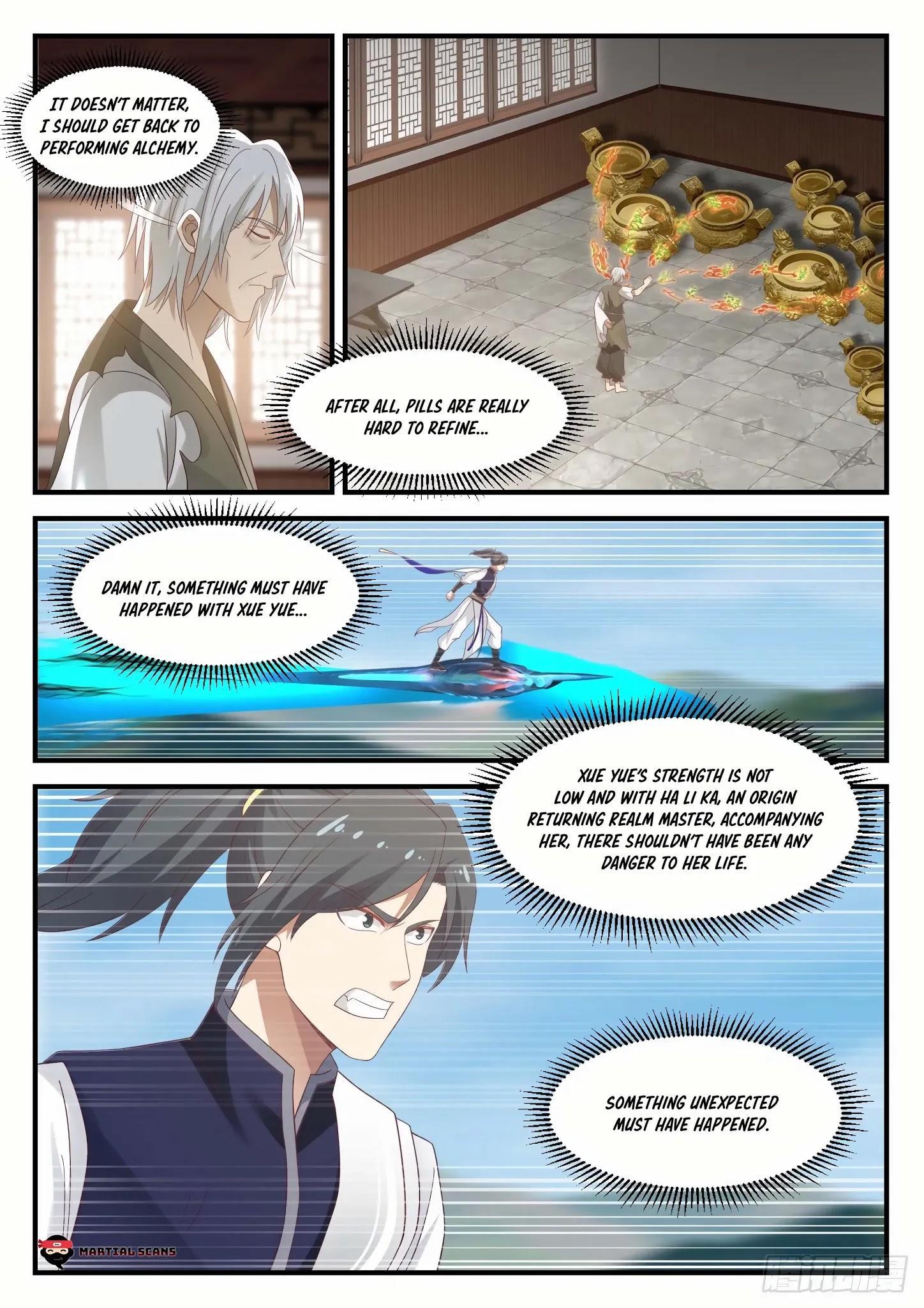 Martial Peak Chapter 933: Life Being Threatened page 11 - Mangakakalots.com