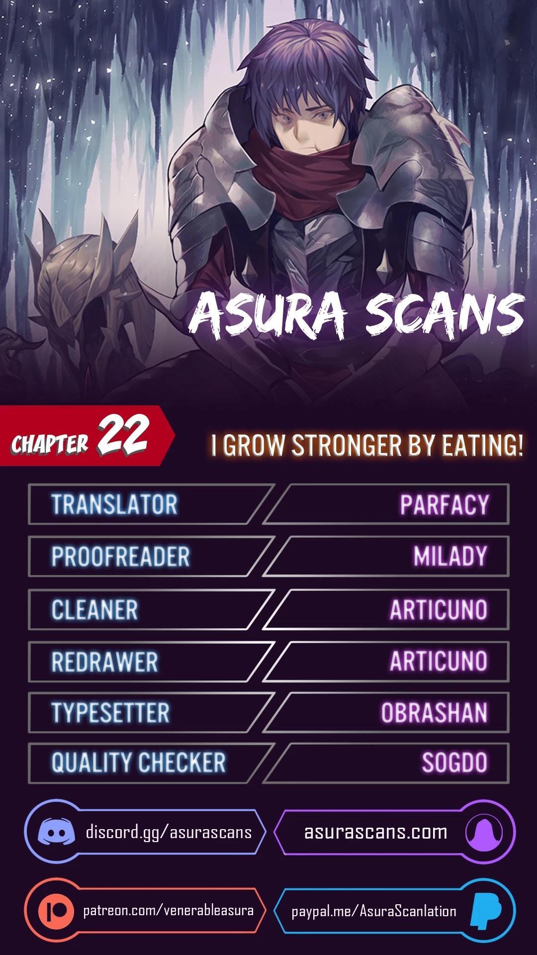 I Grow Stronger By Eating! Chapter 22 page 1 - Mangakakalots.com