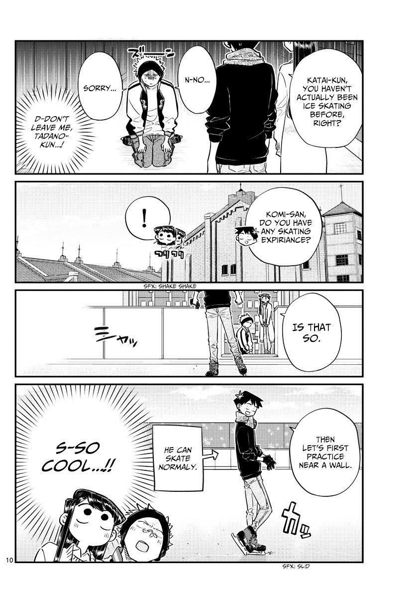 Komi-San Wa Komyushou Desu Vol.7 Chapter 95: Ice Skating page 10 - Mangakakalot
