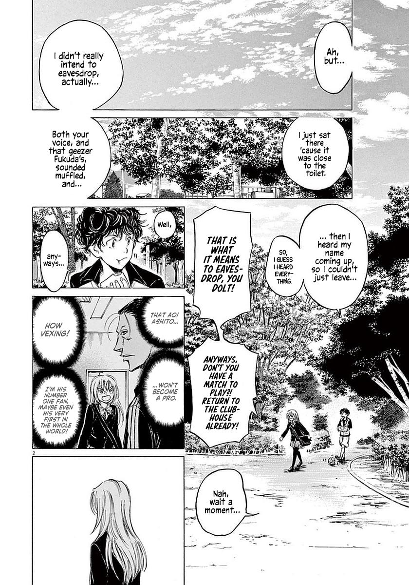 Ao Ashi Vol.4 Chapter 28: Hana Ichijou (2) page 2 - Mangakakalots.com