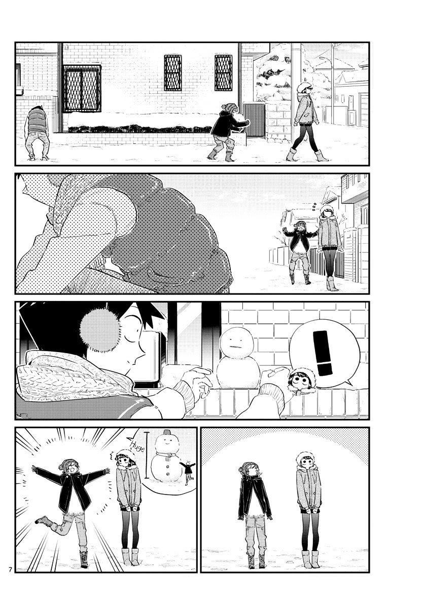 Komi-San Wa Komyushou Desu Vol.7 Chapter 89: A Snowman page 7 - Mangakakalot
