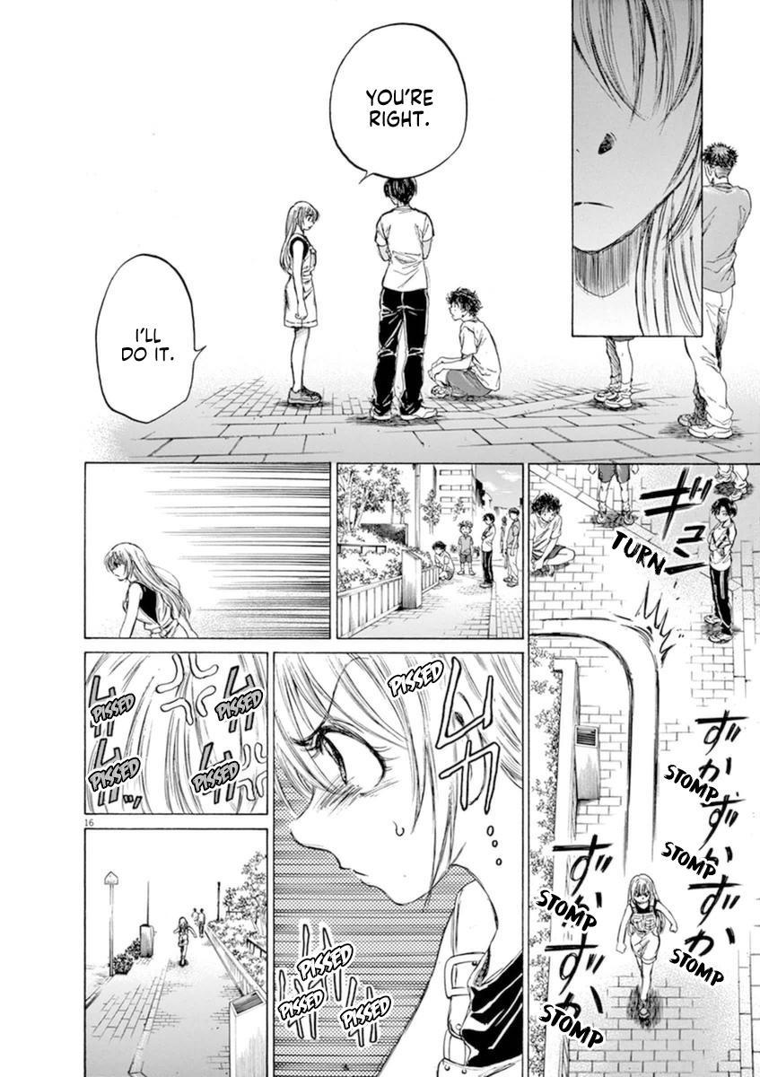 Ao Ashi Vol.9 Chapter 87: Flames Of Desitiny page 17 - Mangakakalots.com