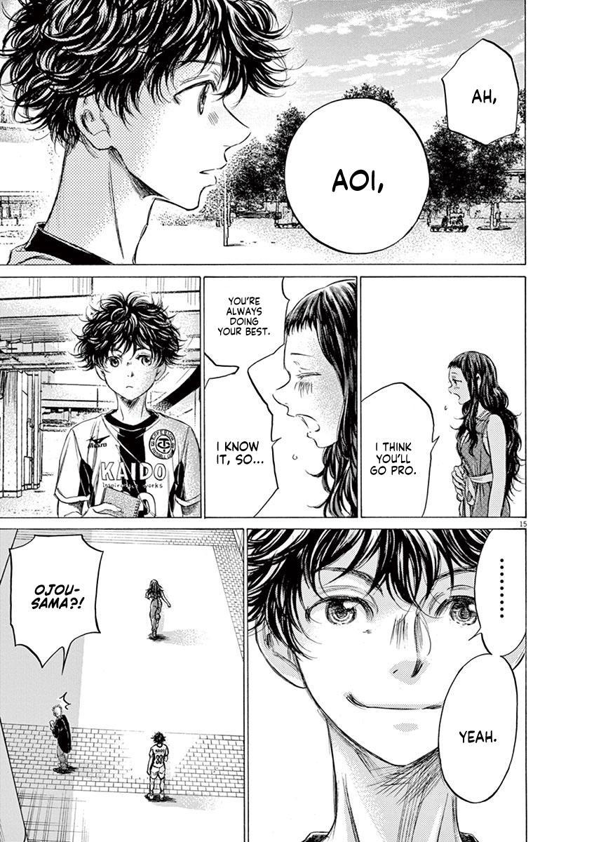 Ao Ashi Vol.14 Chapter 138: Wanting To Meet You page 16 - Mangakakalots.com