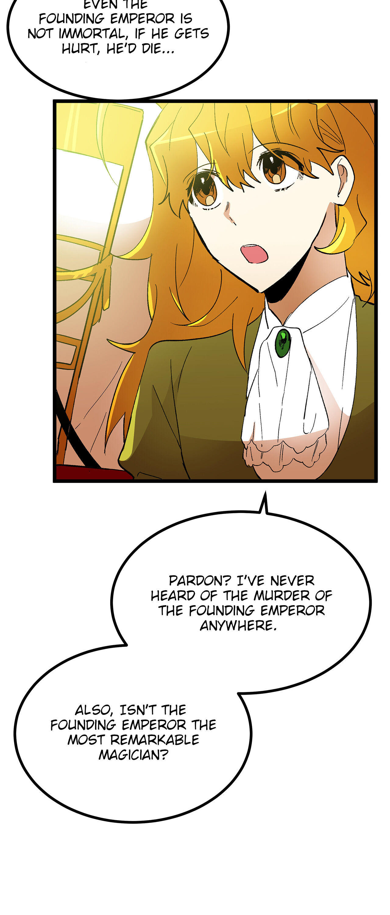 Living As The Emperor's Fiancé Chapter 34 page 11 - Mangakakalots.com