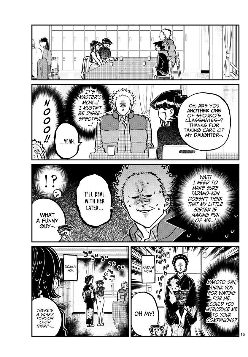 Komi-San Wa Komyushou Desu Chapter 244: Little Brother'S Cultural Festival page 15 - Mangakakalot