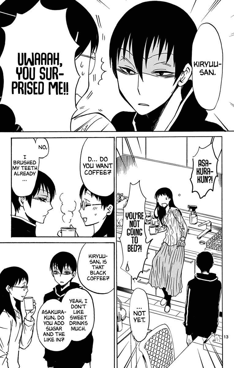 Dousei Sensei Wa Renai Ga Wakaranai. Chapter 13 page 14 - Mangakakalots.com