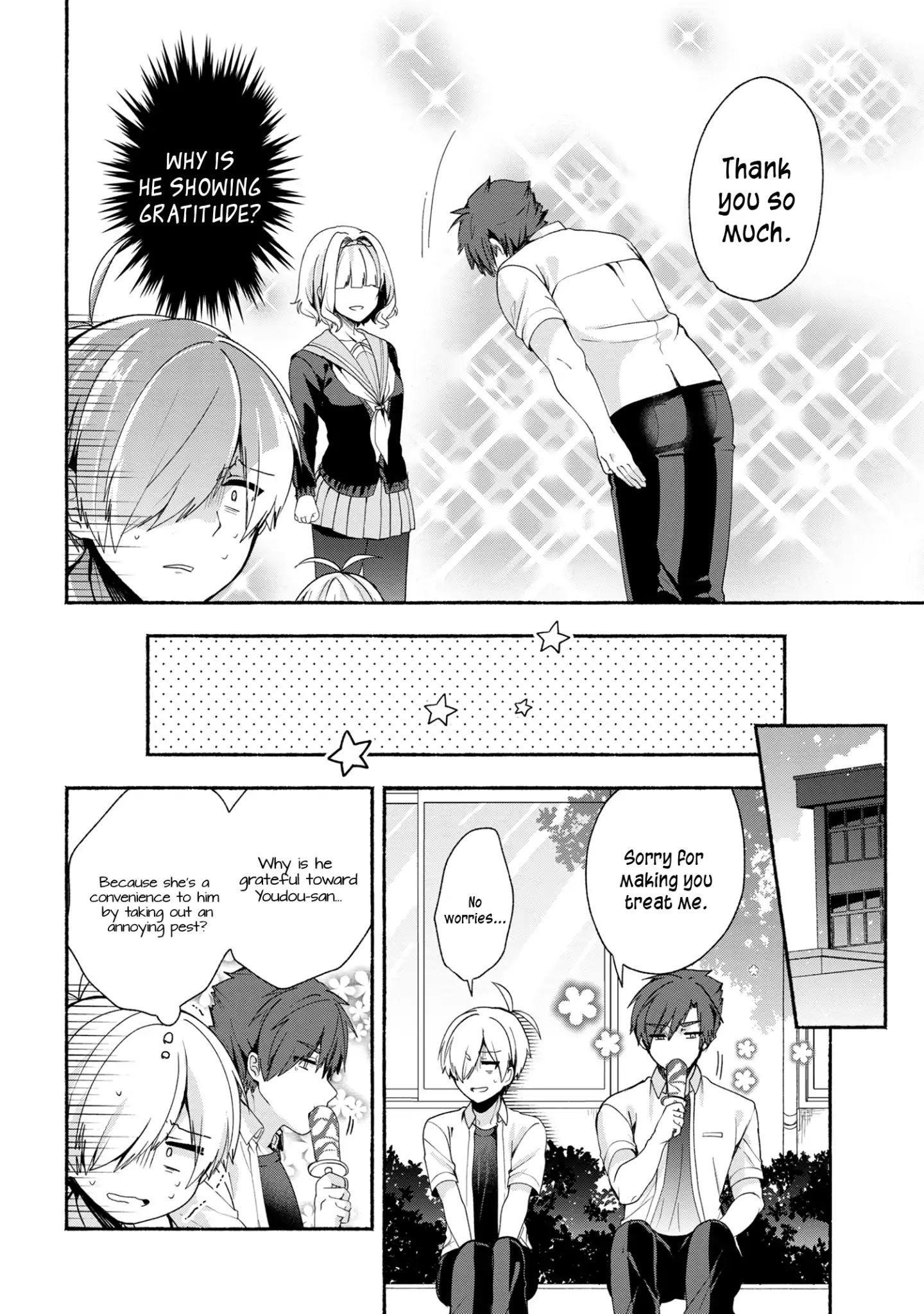 Pashiri Na Boku To Koi Suru Banchou-San Chapter 37 page 9 - Mangakakalots.com