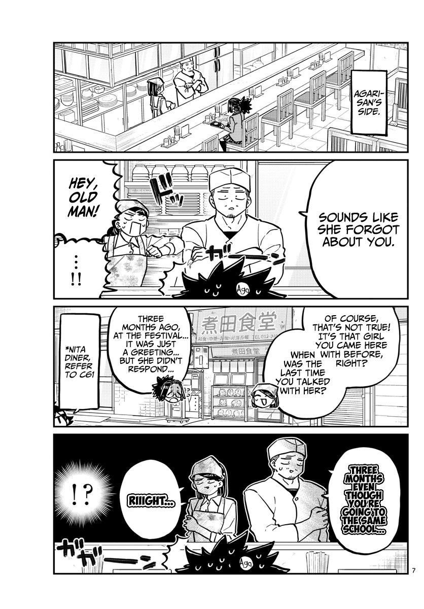 Komi-San Wa Komyushou Desu Chapter 247: Passing By page 7 - Mangakakalot