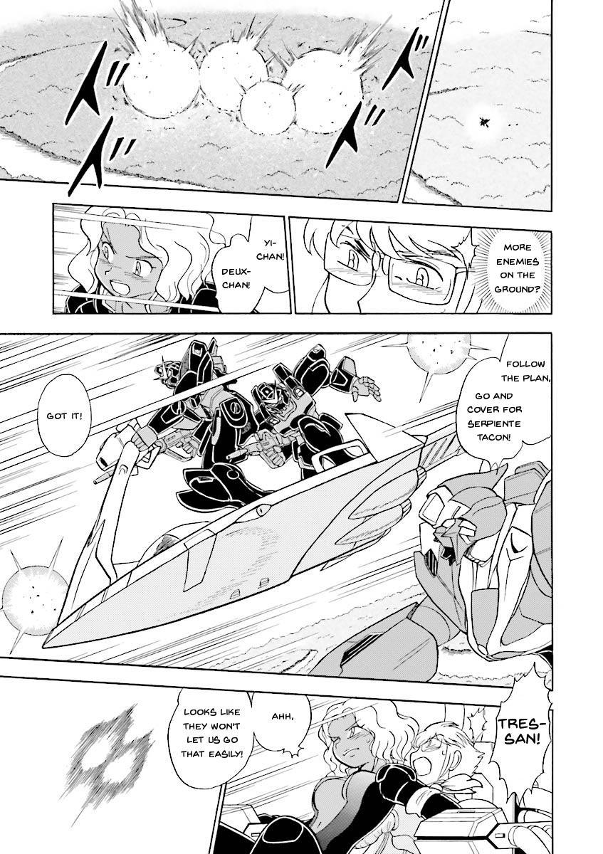 Kidou Senshi Crossbone Gundam Ghost Vol.5 Chapter 19: Jaburo's Thunderclap page 38 - Mangakakalots.com