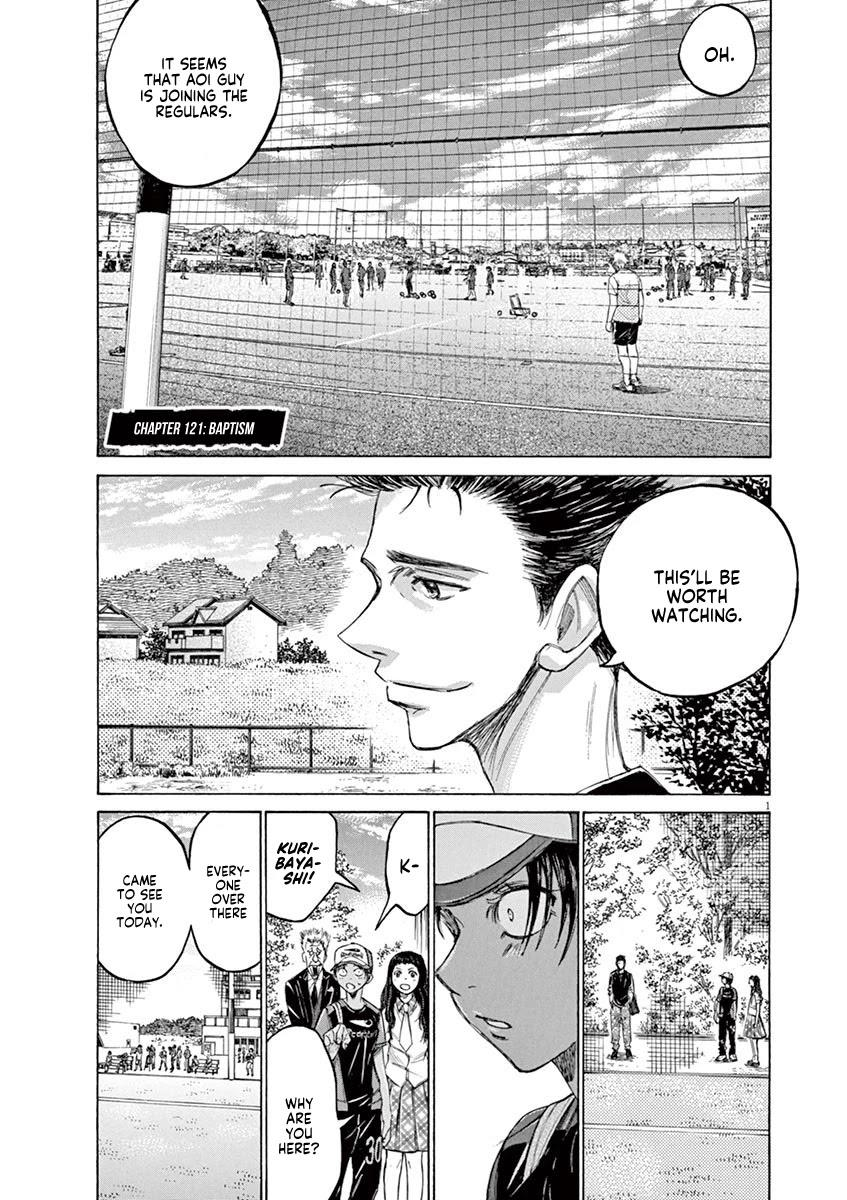 Ao Ashi Chapter 121: Baptism page 2 - Mangakakalots.com