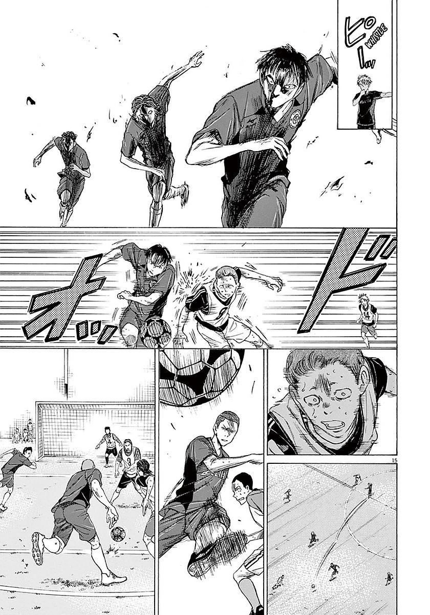 Ao Ashi Vol.2 Chapter 13: Telling The Exam-Takers page 15 - Mangakakalots.com
