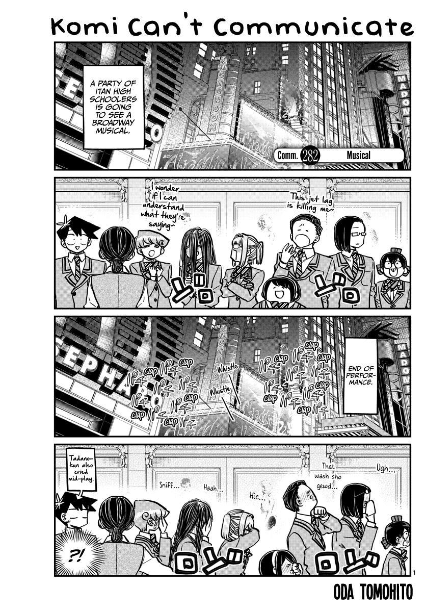 Komi-San Wa Komyushou Desu Chapter 282: Musical page 1 - Mangakakalot