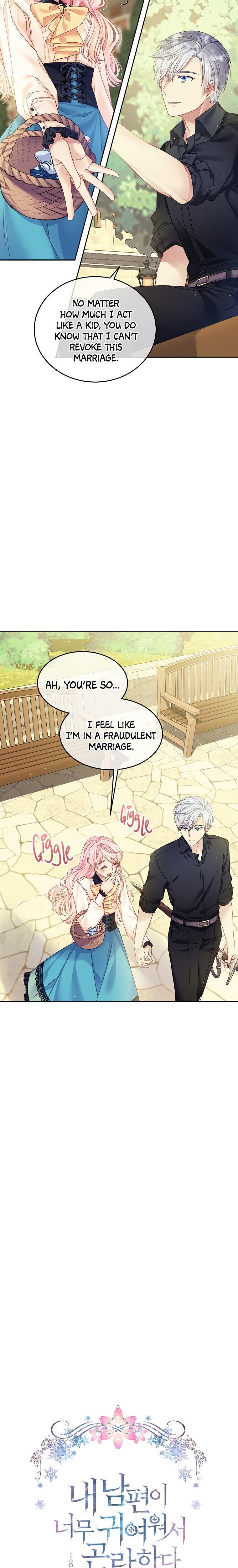 I'M In Trouble Because My Husband Is So Cute Chapter 12 page 11 - Mangakakalots.com