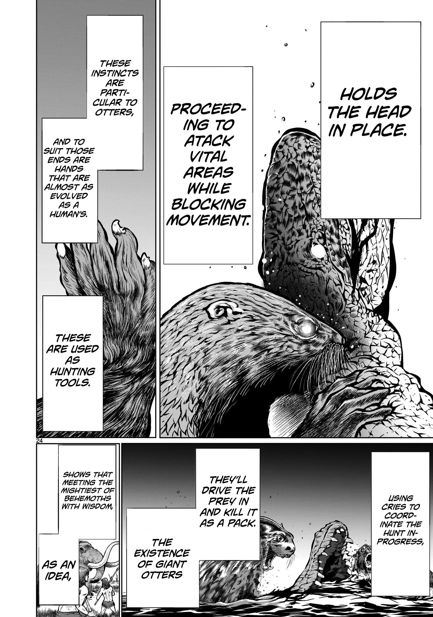 """Killing Bites Chapter 89: """"knowing How To Hunt Is In My Nature♡"""" page 22 - Mangakakalots.com"""