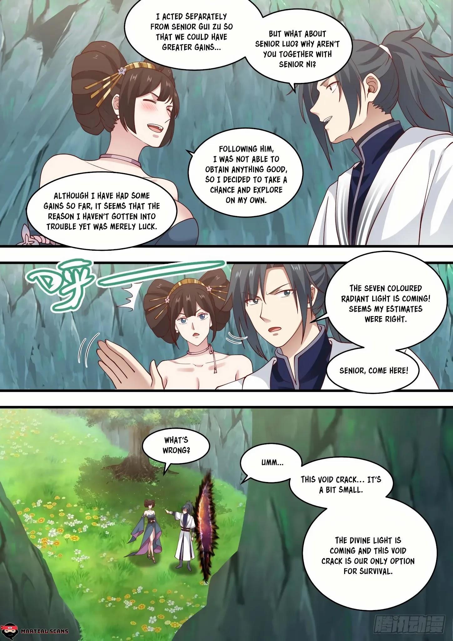 Martial Peak Chapter 1465: A Bit Tight page 4 - Mangakakalot