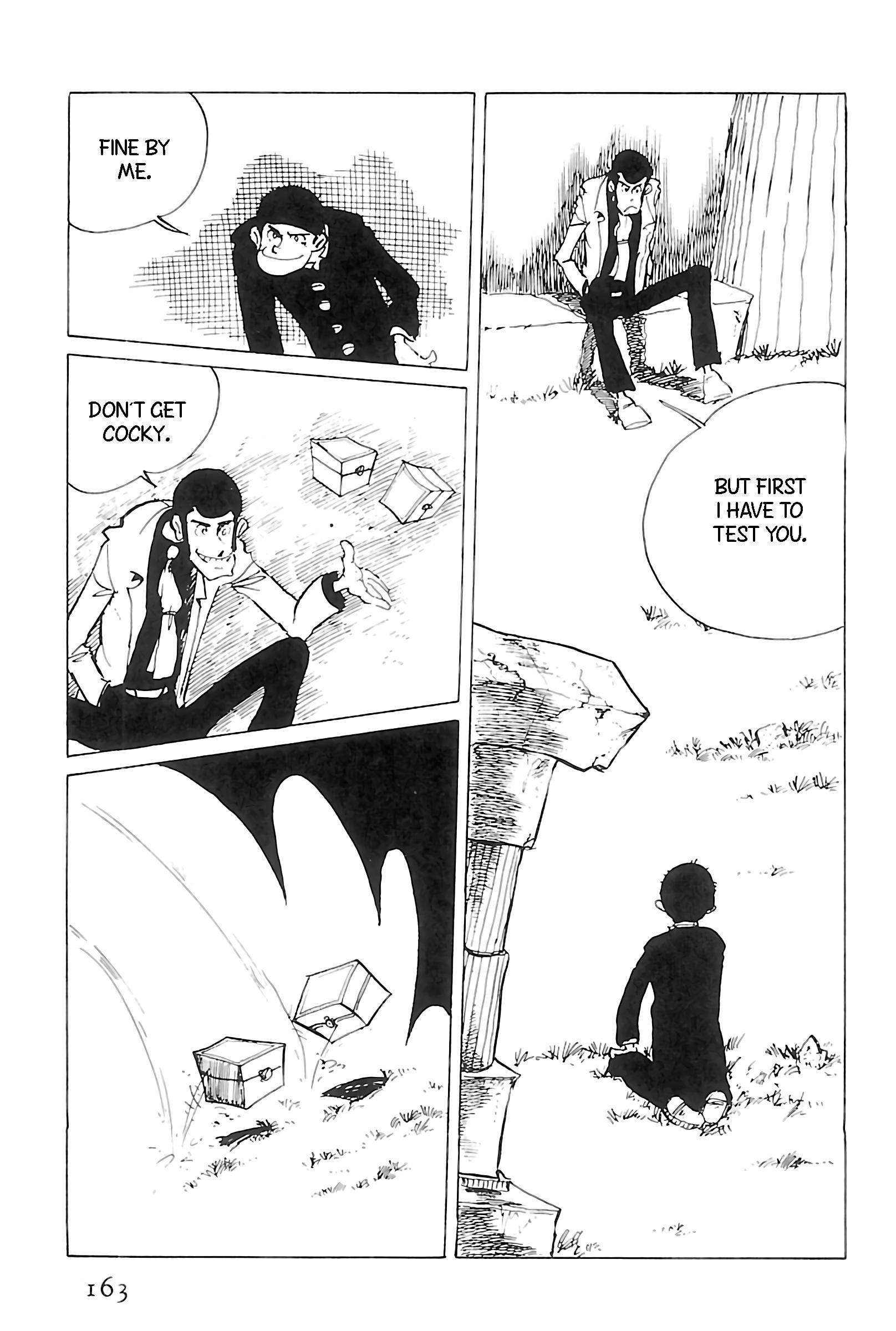 Lupin Iii: World'S Most Wanted Vol.11 Chapter 123: Regifting page 3 - Mangakakalots.com