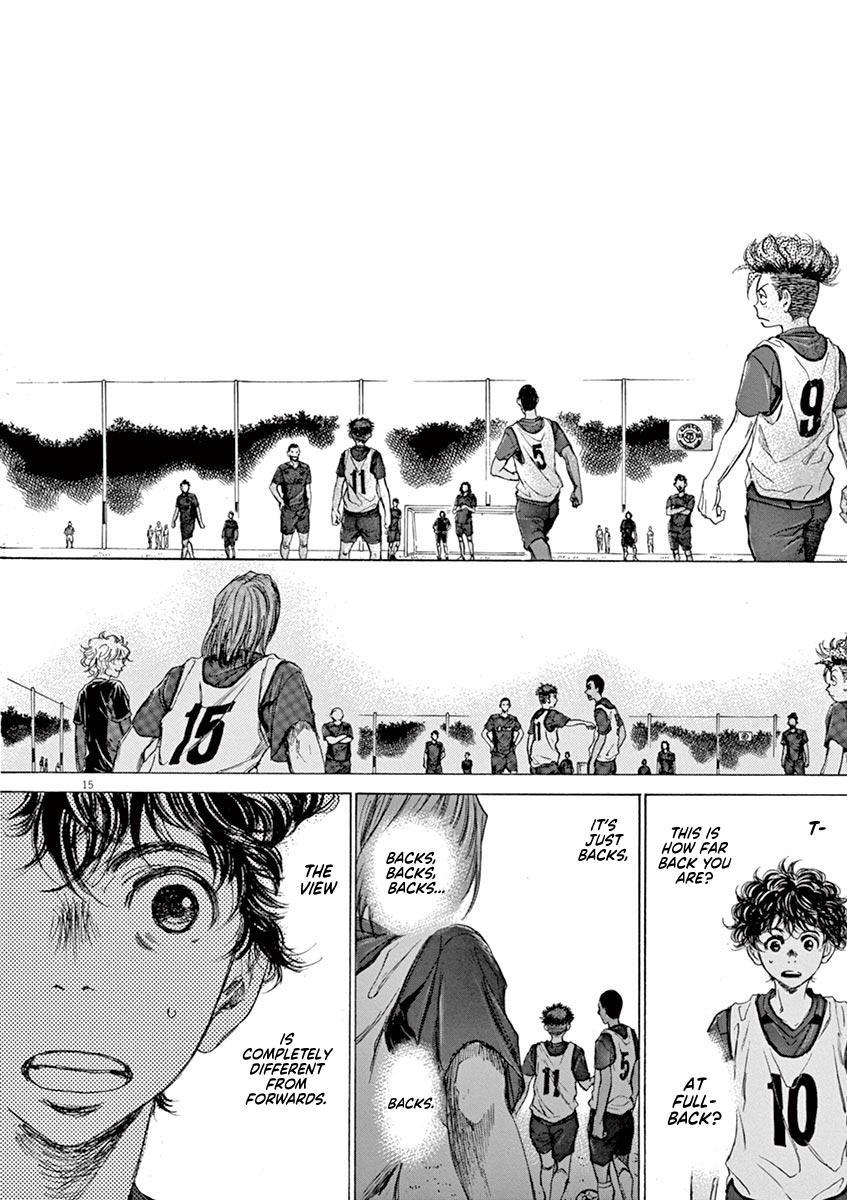 Ao Ashi Vol.7 Chapter 66: Look Out page 16 - Mangakakalots.com