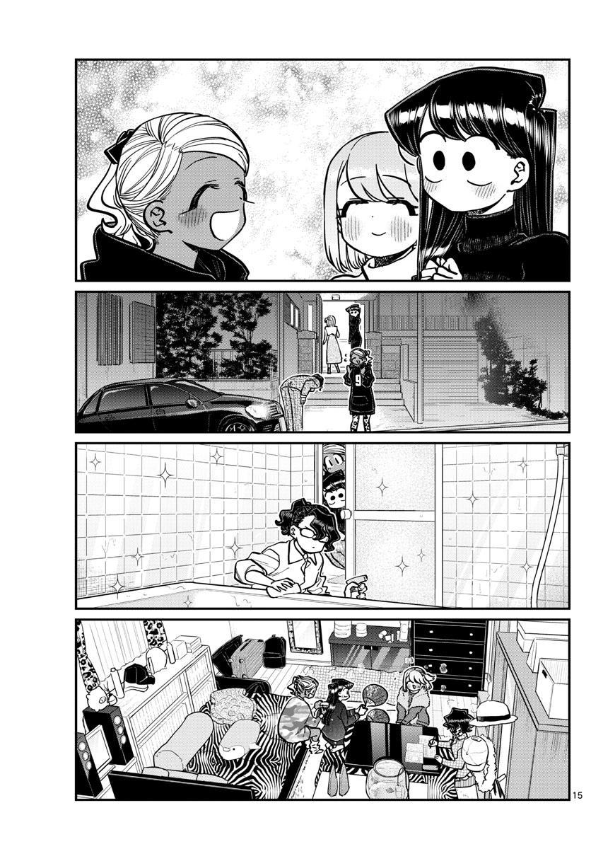 Komi-San Wa Komyushou Desu Chapter 257: Studying And A Sleepover page 15 - Mangakakalots.com