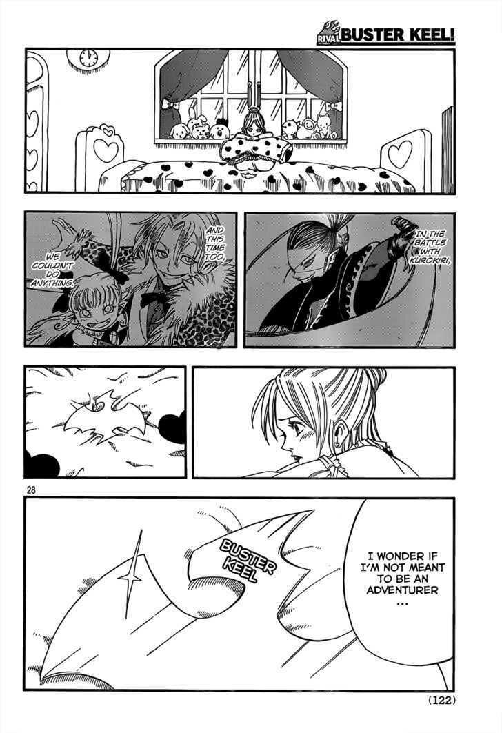 Buster Keel! Vol.2 Chapter 17 : Songbird Dream page 28 - Mangakakalots.com