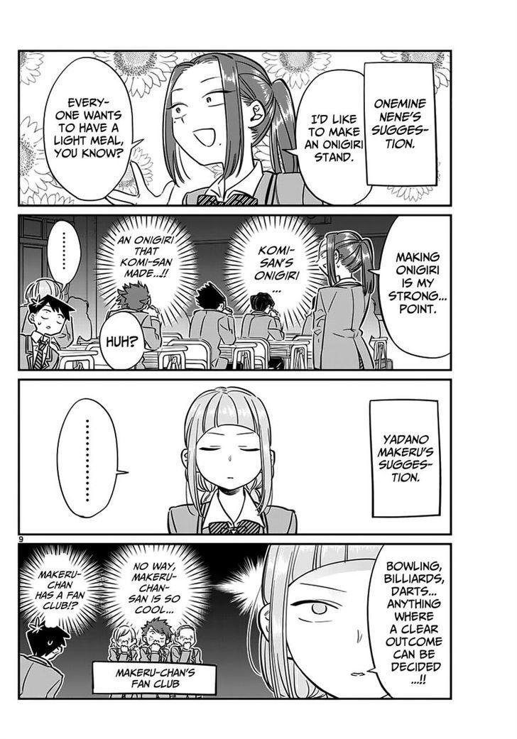 Komi-San Wa Komyushou Desu Vol.5 Chapter 62: Programa Do Festival Cultural page 9 - Mangakakalot