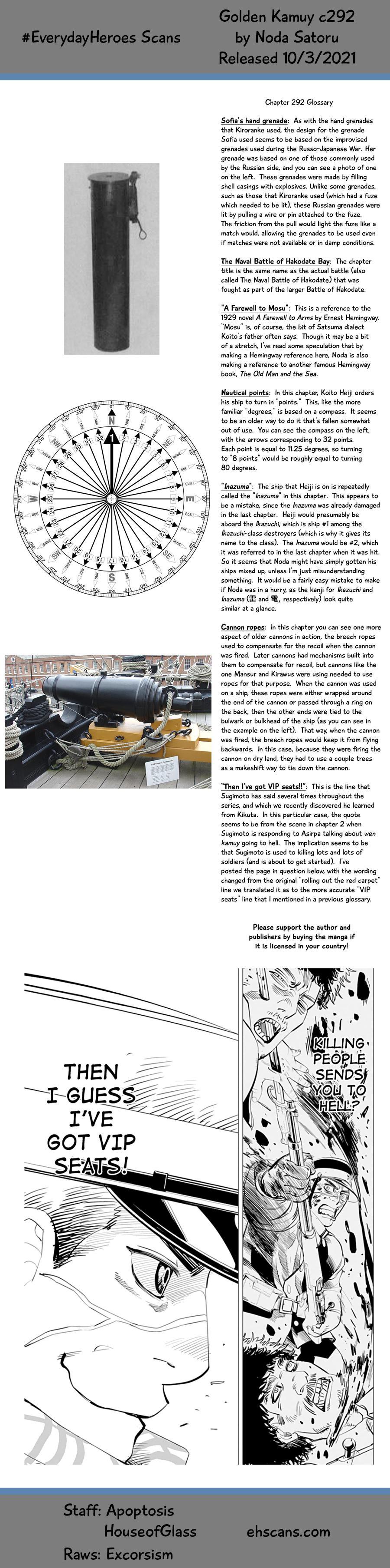 Golden Kamui Chapter 292: The Naval Battle Of Hakodate Bay page 19 - Mangakakalots.com