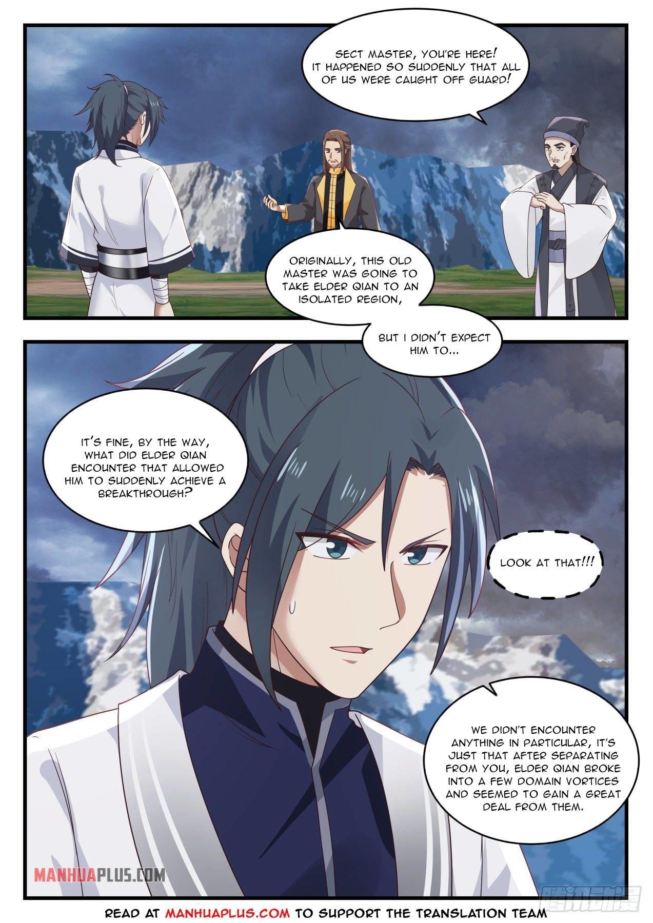 Martial Peak Chapter 1391 page 10 - Mangakakalots.com
