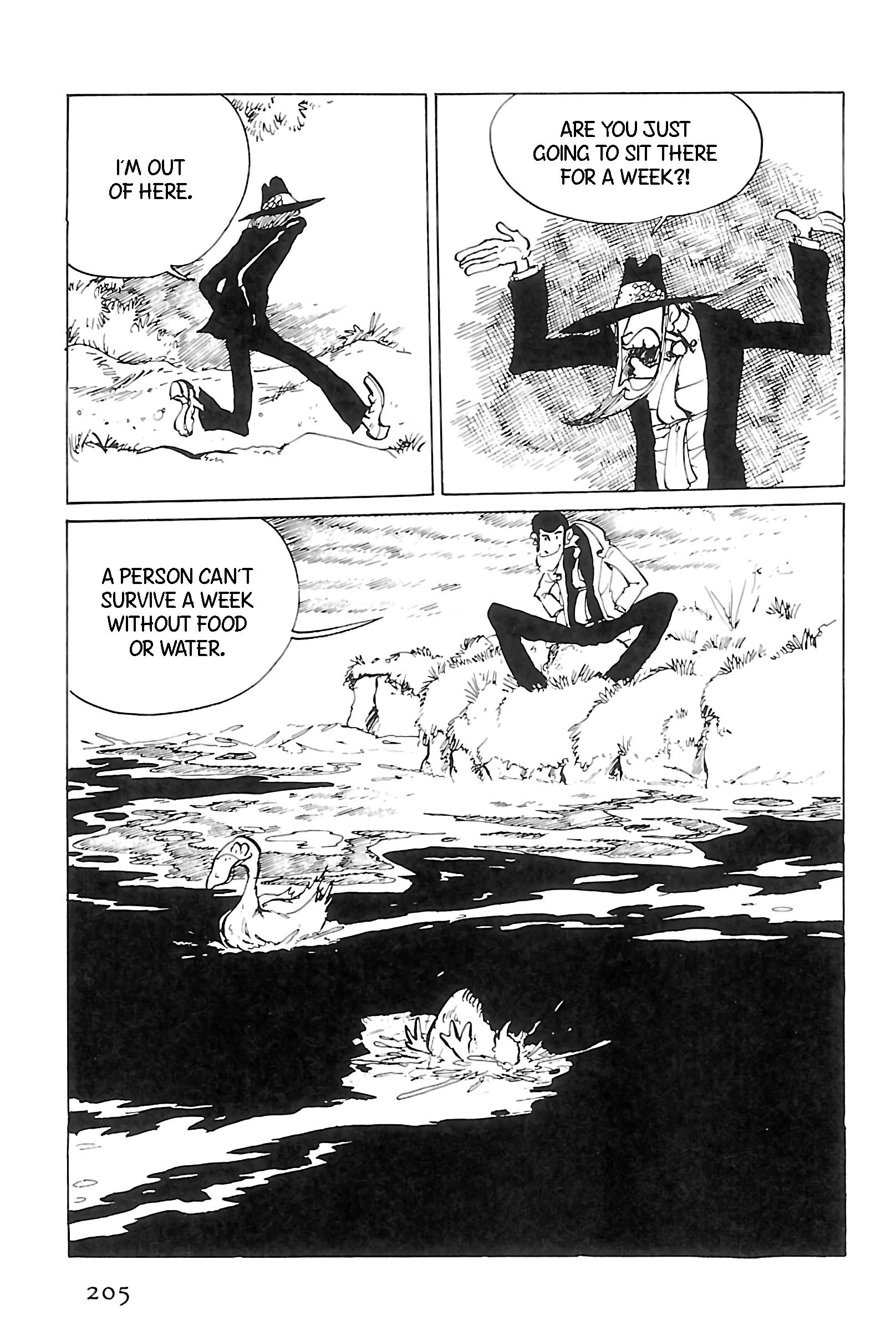 Lupin Iii: World'S Most Wanted Vol.11 Chapter 125: A Play In One Jigen page 9 - Mangakakalots.com