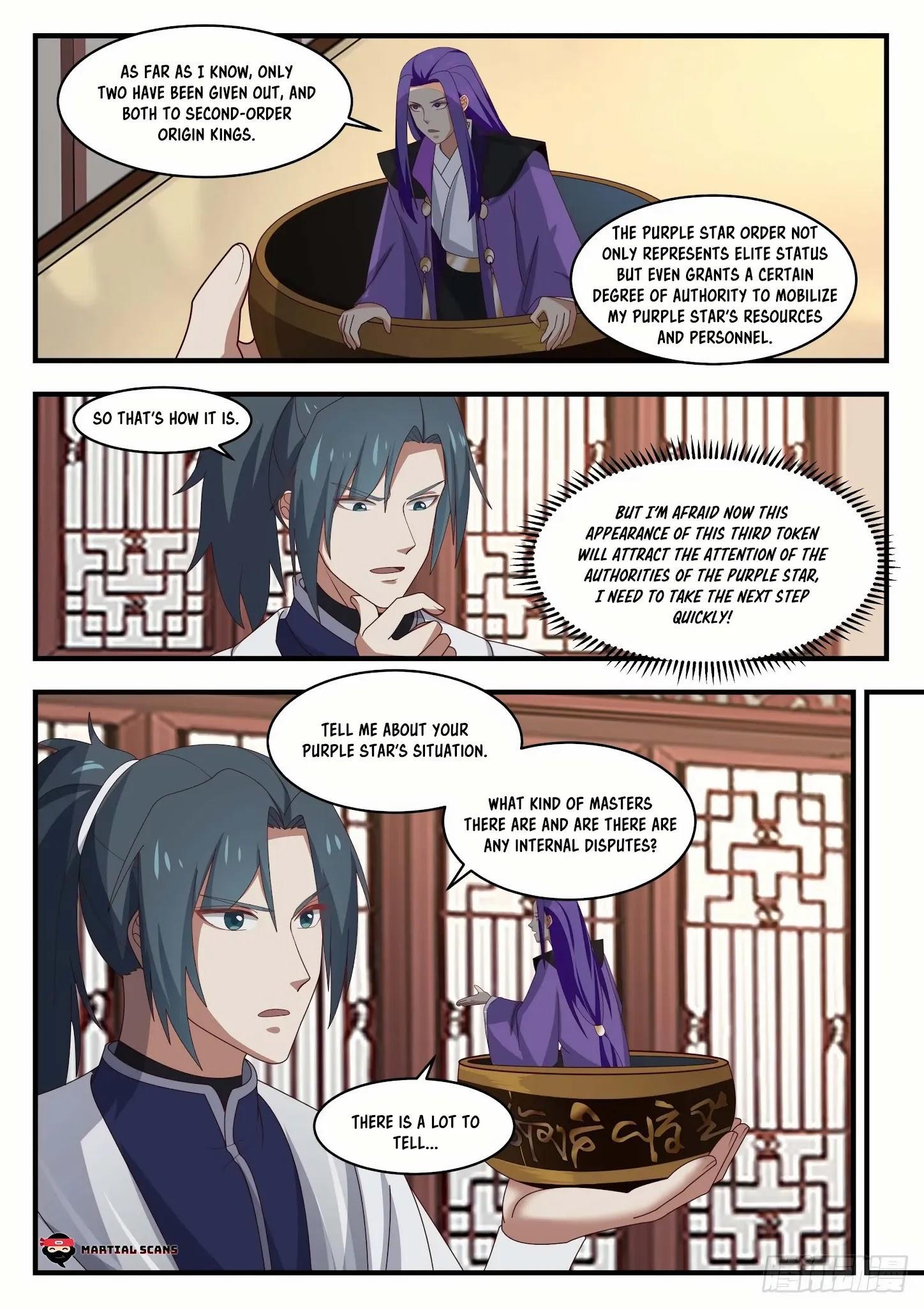 Martial Peak Chapter 1505: Purple Star Order page 9 - Mangakakalots.com