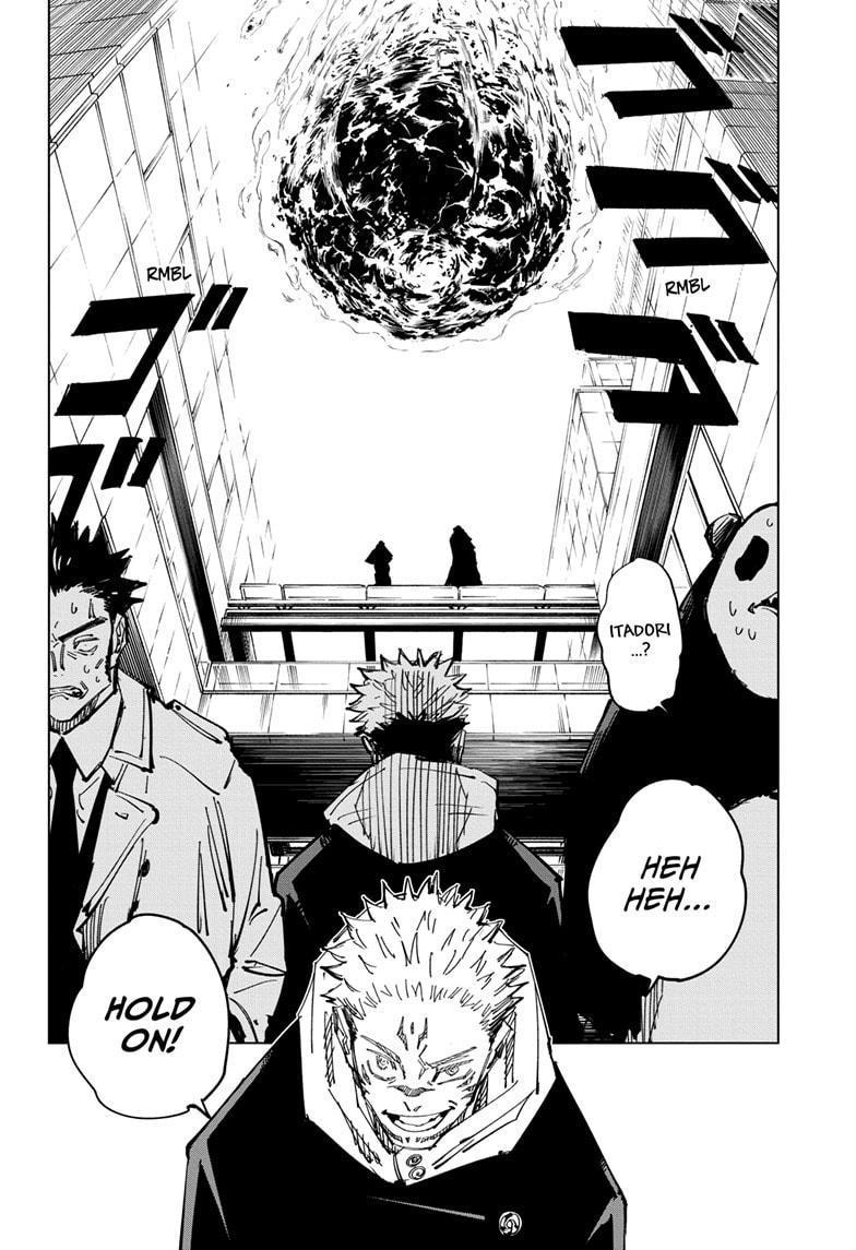 Jujutsu Kaisen Chapter 115 page 12 - Mangakakalot
