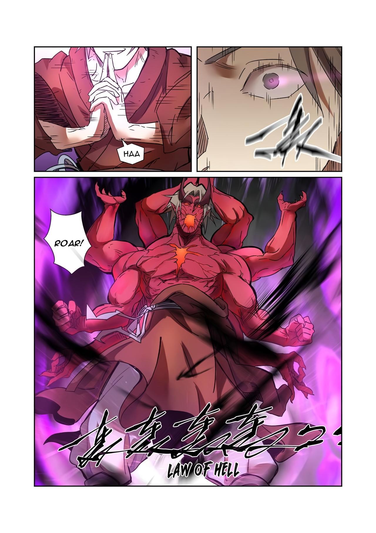 Tales Of Demons And Gods Chapter 281.5 page 8 - Mangakakalots.com
