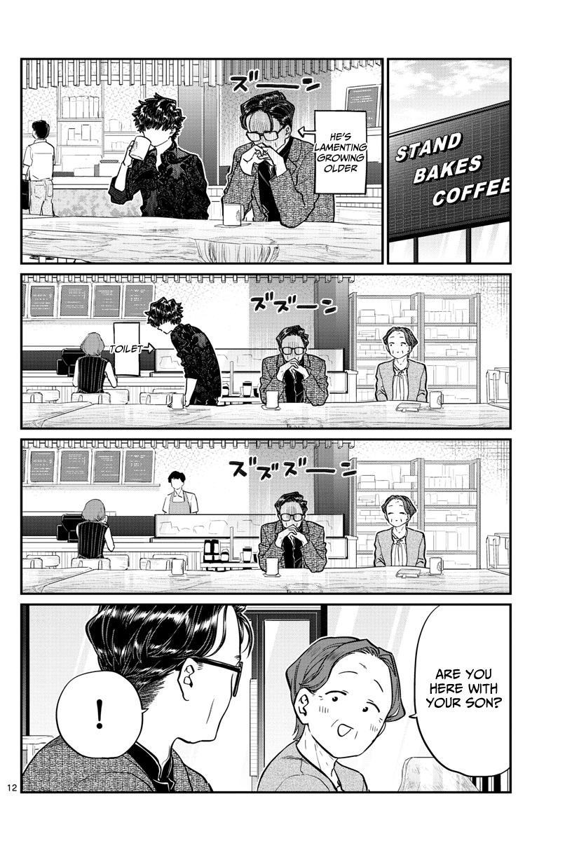 Komi-San Wa Komyushou Desu Chapter 215: A Day Of A Father And Son page 12 - Mangakakalot