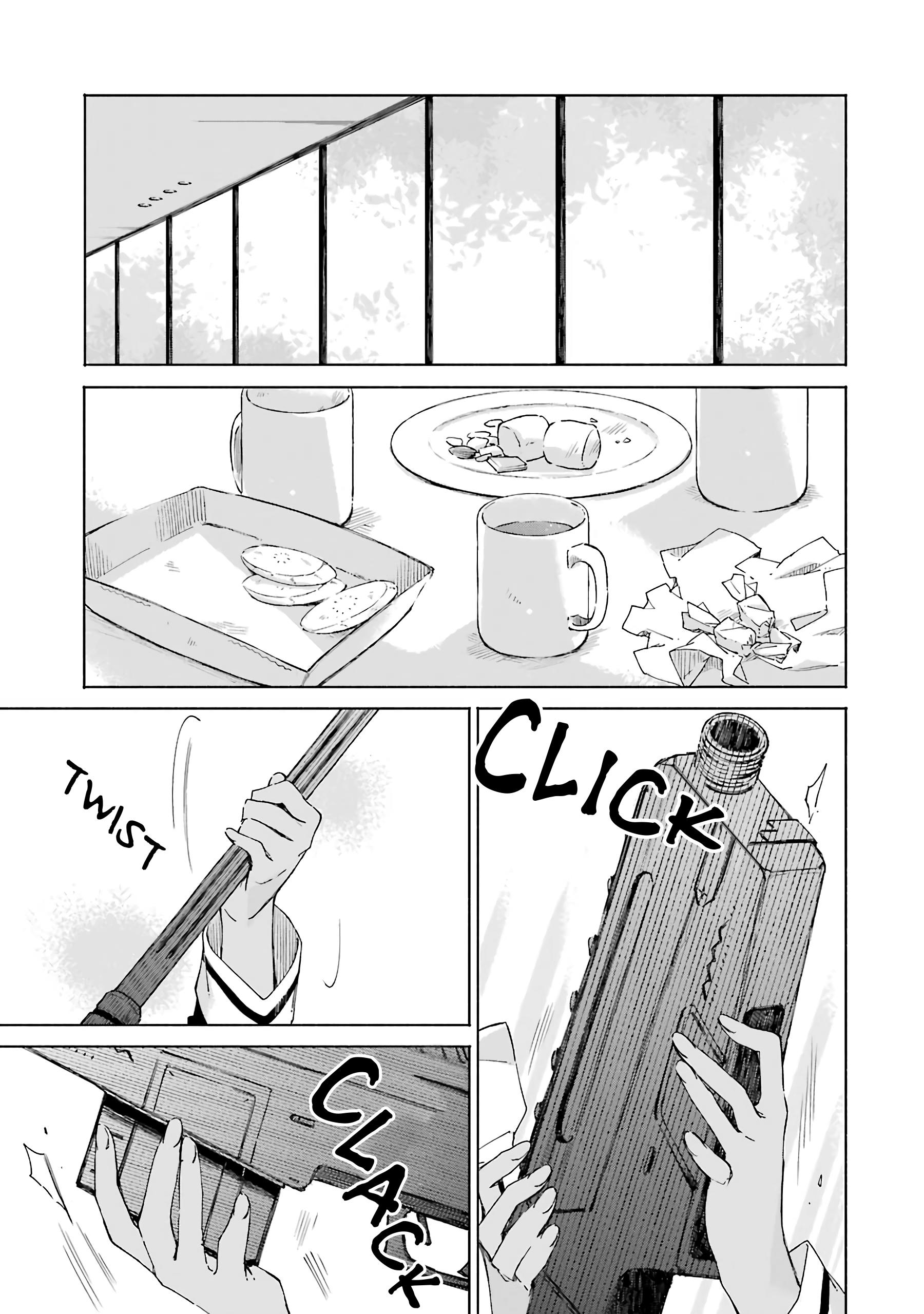 Our Lives After The Apocalypse Vol.3 Chapter 16: Departure page 12 - Mangakakalots.com