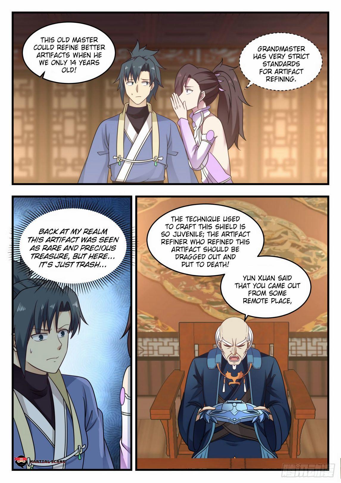 Martial Peak Chapter 592 page 5 - Mangakakalots.com