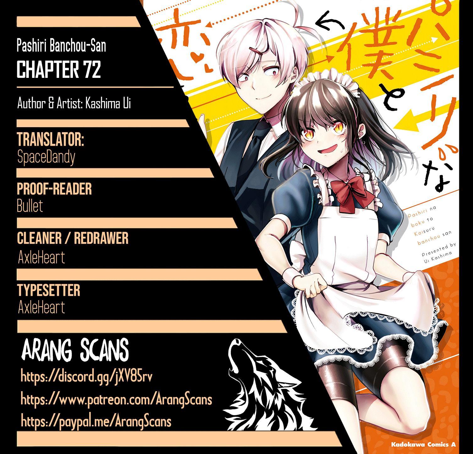 Pashiri Na Boku To Koi Suru Banchou-San Chapter 72 page 1 - Mangakakalots.com