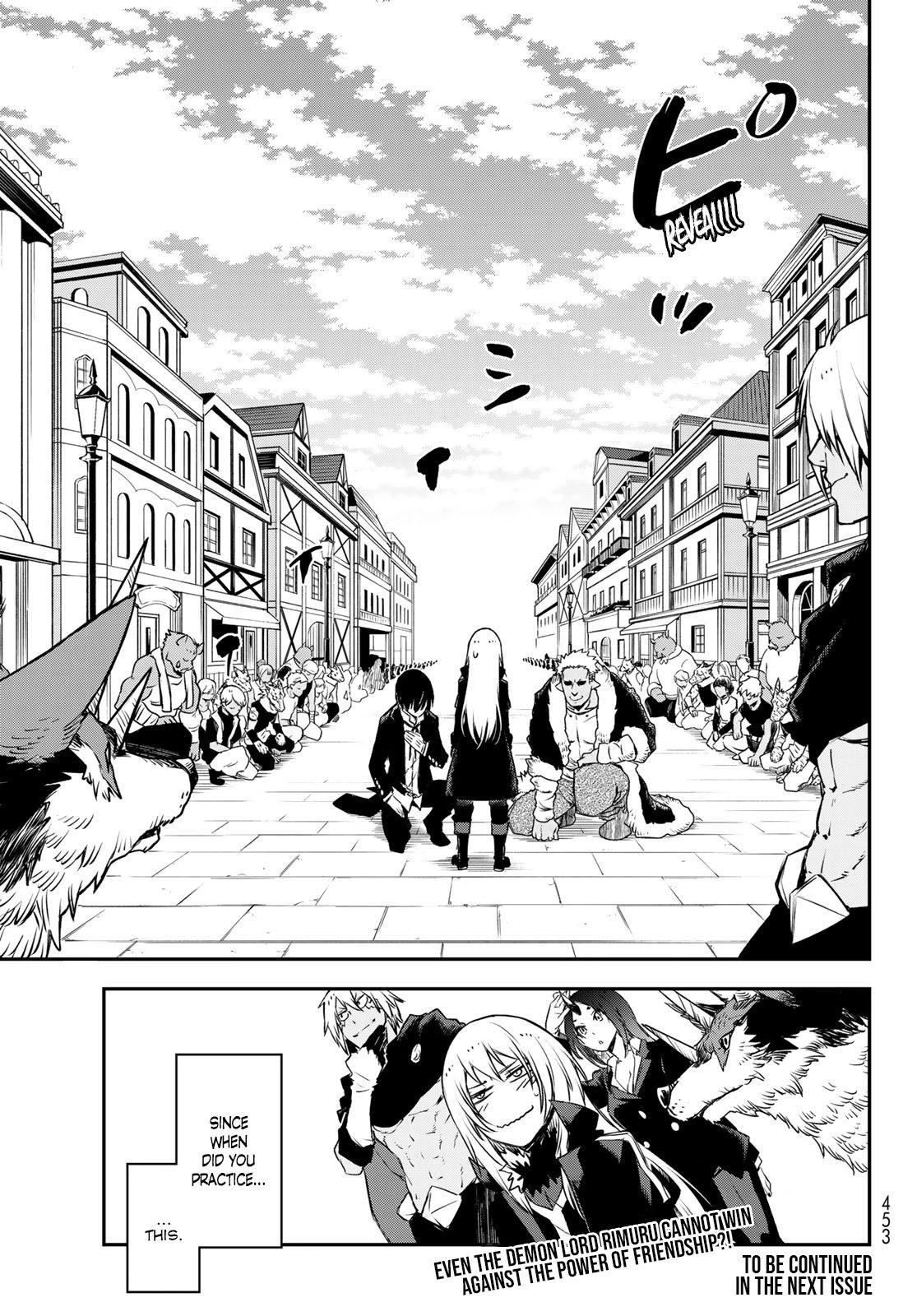 Tensei Shitara Slime Datta Ken Chapter 87: God's Right Hand page 43 - Mangakakalots.com