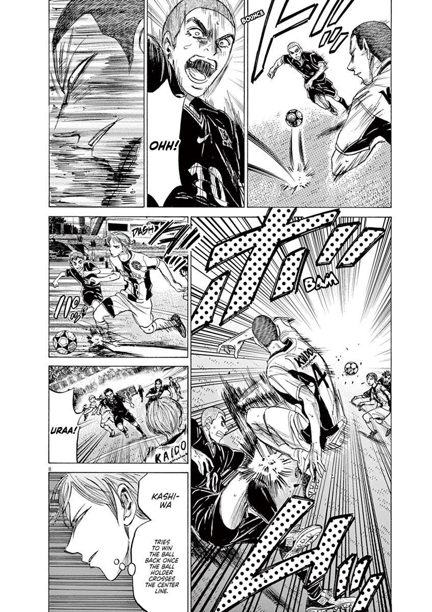 Ao Ashi Vol.13 Chapter 129: Keep One's Word page 9 - Mangakakalots.com