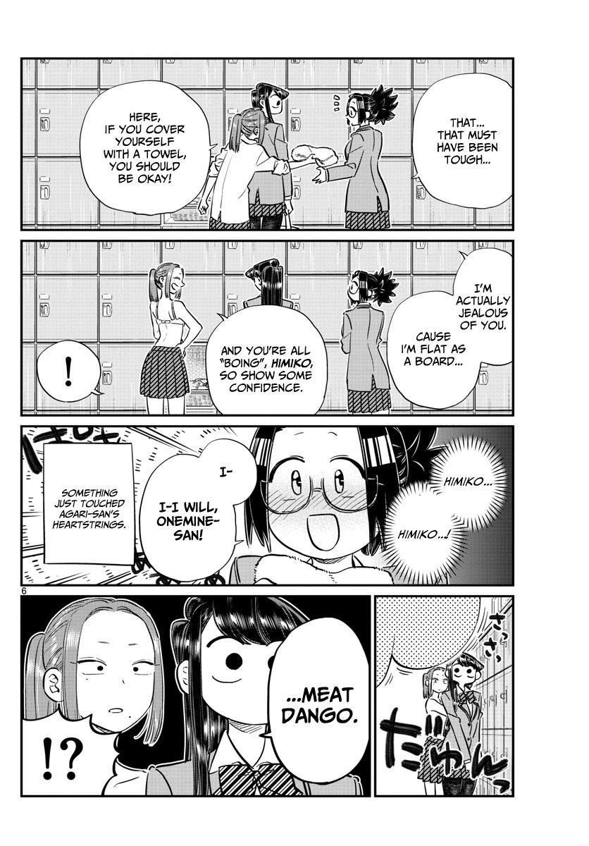 Komi-San Wa Komyushou Desu Vol.8 Chapter 106: The Bath page 6 - Mangakakalot